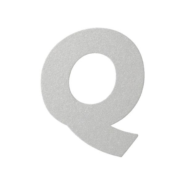 No.395ボードA7カードDC 文字Qシルバー