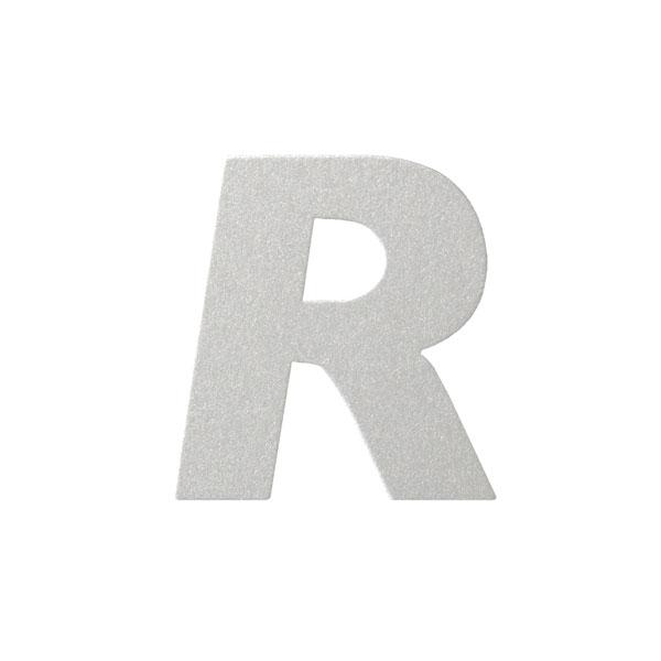 No.395ボードA7カードDC 文字Rシルバー