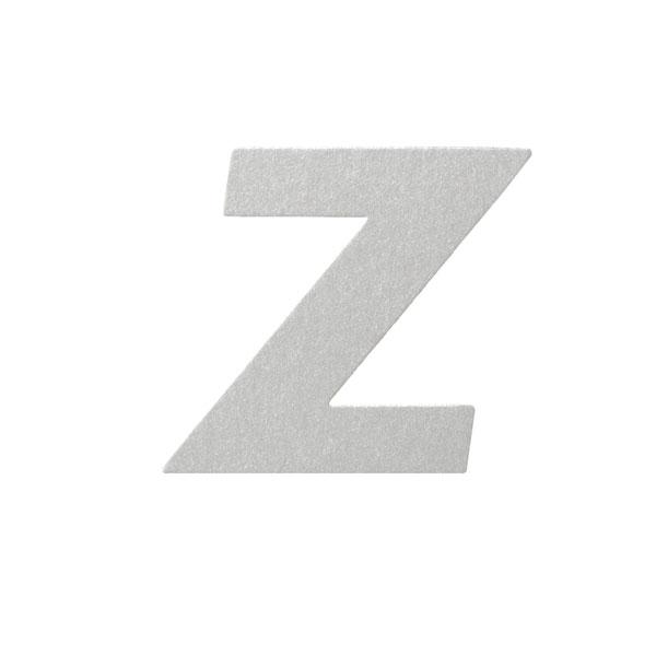 No.395ボードA7カードDC 文字Zシルバー