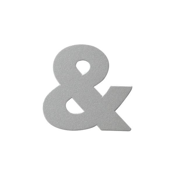 No.395ボードA7カードDC 文字&シルバー
