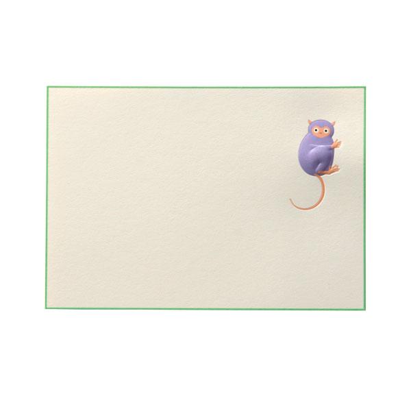 No.700メガネザルPカード