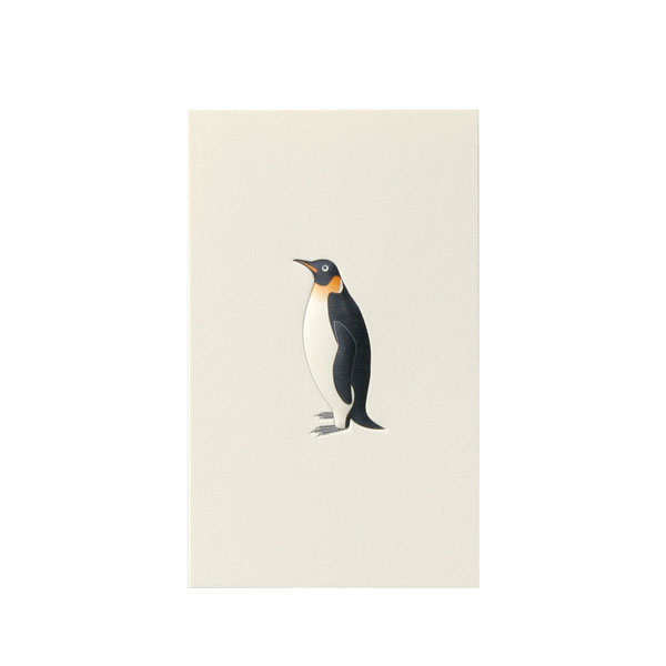 No.700ペンギンネームカード