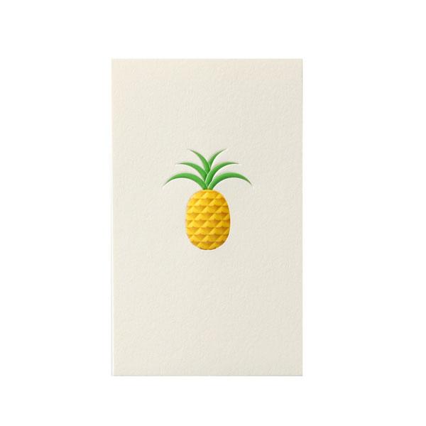 No.700パイナップルネームカード