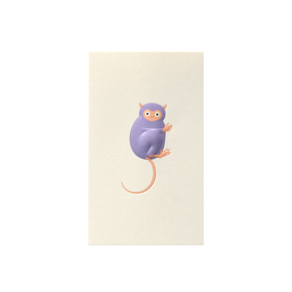 No.700メガネザルネームカード