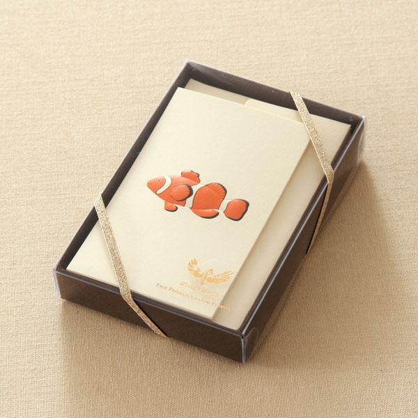 No.700クラウンフィッシュミニカードセット ギフト