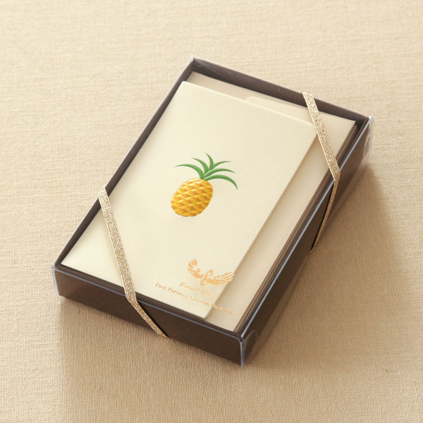 No.700パイナップルミニカードセット ギフト