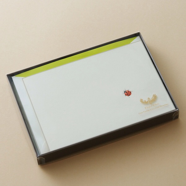 No.700てんとう虫Pカードセット ボックス
