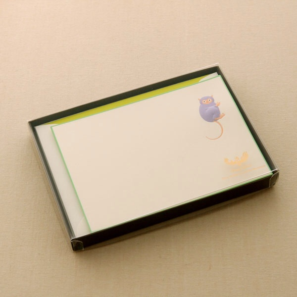 No.700メガネザルPカードセット ボックス