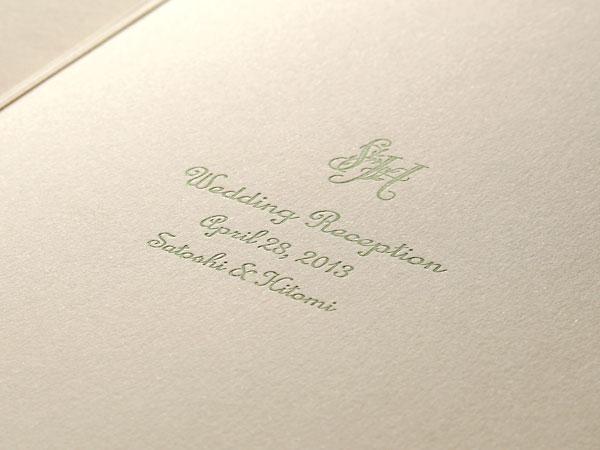 デザインSW112・活版印刷×コットン特厚 ナチュラル(H.O様)