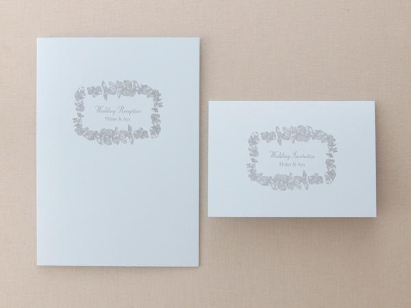 デザインSW132・活版印刷×コットン ブルー