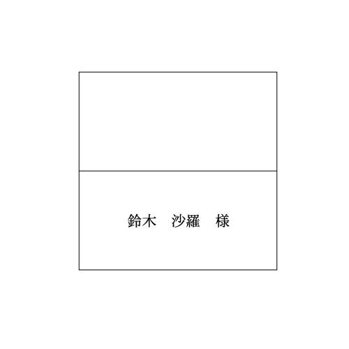 席札 #29Vカード