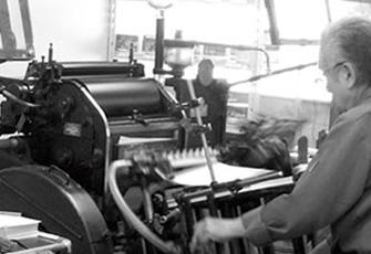 印刷・加工注文の流れ