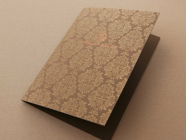 デザインSW111・箔押し加工×Magnolia gold