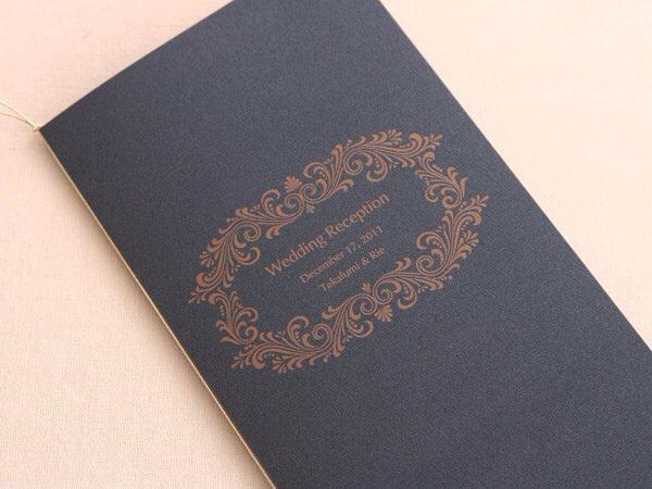 デザインSW152・活版印刷×コットンパール ミッドナイトブルー