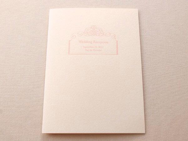 デザインSW151・活版印刷×コットンパール ナチュラル