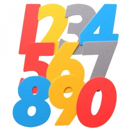 No.394ダイカットカード・数字