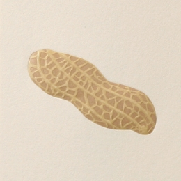 No.700ピーナッツ  の名刺