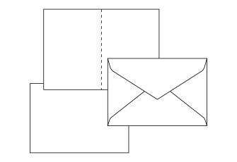 印刷データ用テンプレート(封筒・カード・シート 他)