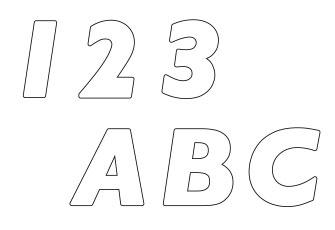 印刷データ用テンプレート(ダイカット2)