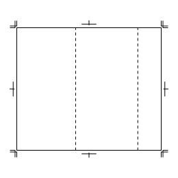A32三つ折りカバー
