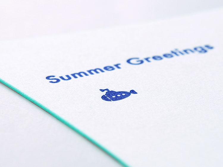 PカードDC Sunshine and Blue sea