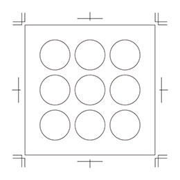 円形シール