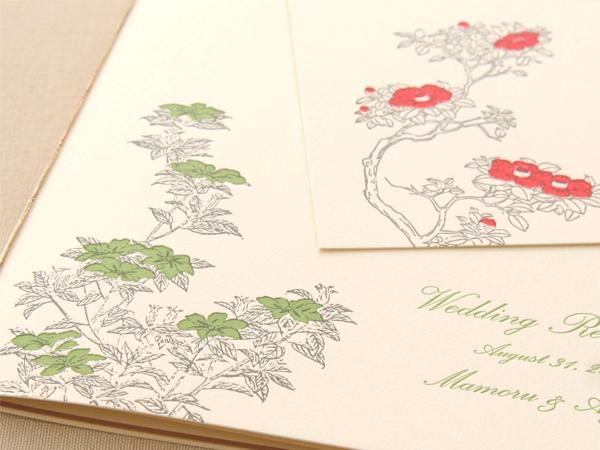 デザインSW221/222・活版印刷×コットン特厚 ナチュラル(Ayumi様)