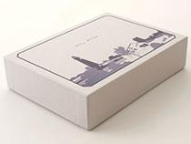 ブランドイメージを印刷した箱