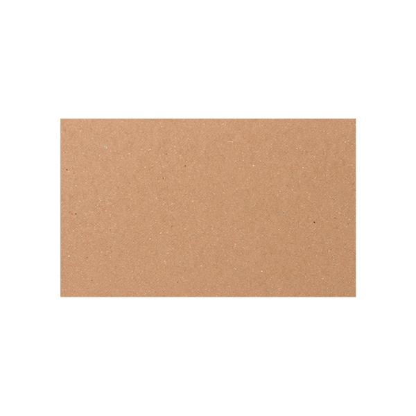 ネームカード ボード紙ブラウン