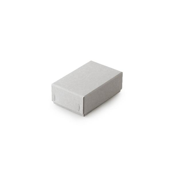 #341ホッチキス箱 ボード紙グレー