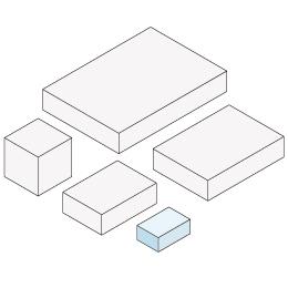 ホッチキス箱 サイズXS