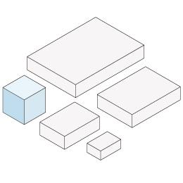貼箱 キューブ