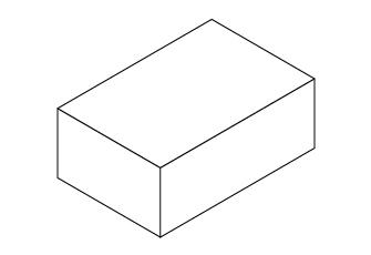 印刷データ用テンプレート(ホッチキス箱)