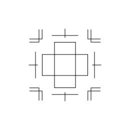 ボックス サイズXS・2(341002)