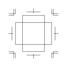 ボックス サイズM・2(343002)