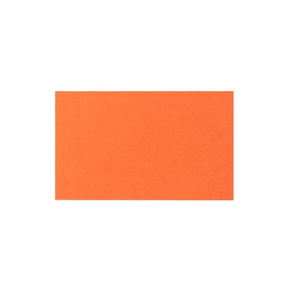 ネームカード ボード紙 オレンジ