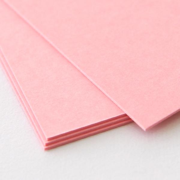 ネームカード ボード紙 ピンク