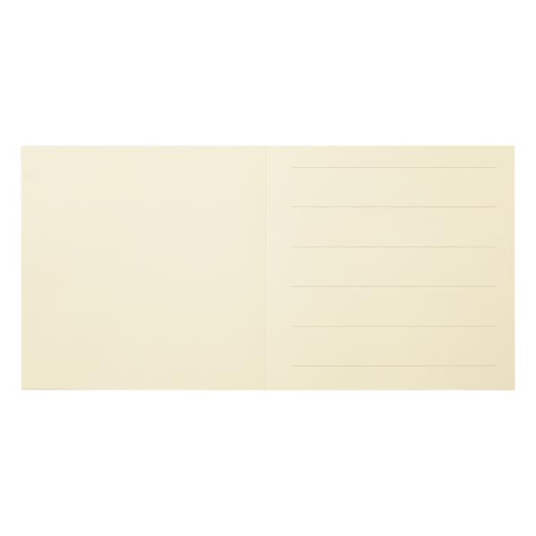 210×210カバー用中紙 コットンナチュラル