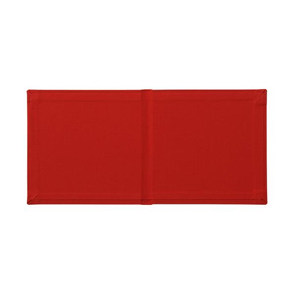 140×140カバー クロス レッド