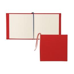 芳名帳カバーセット 140×140 クロス レッド