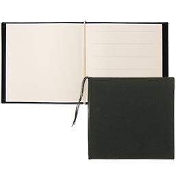 芳名帳カバーセット 210×210 クロス ブラック