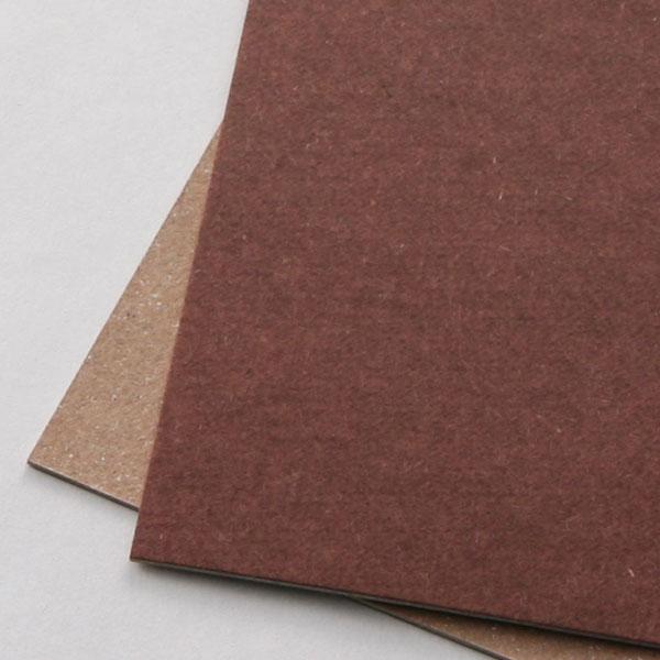 ネームカード ボード紙チョコレート