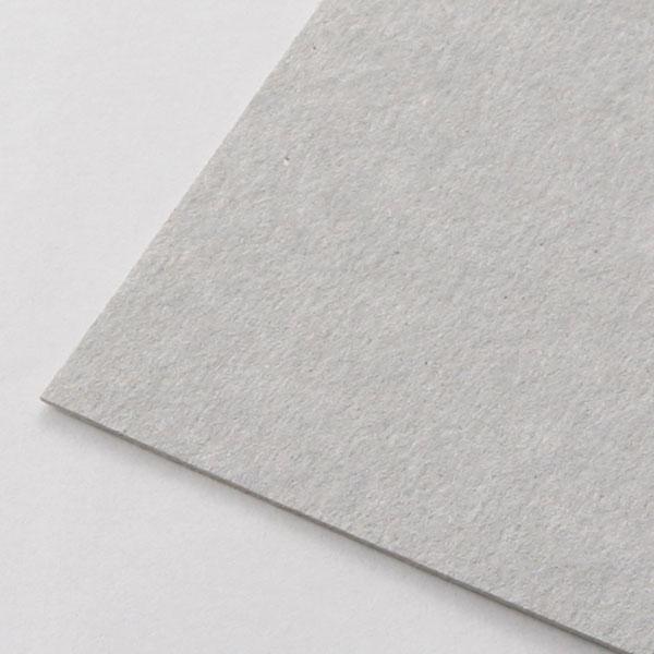 ネームカード ボード紙グレー