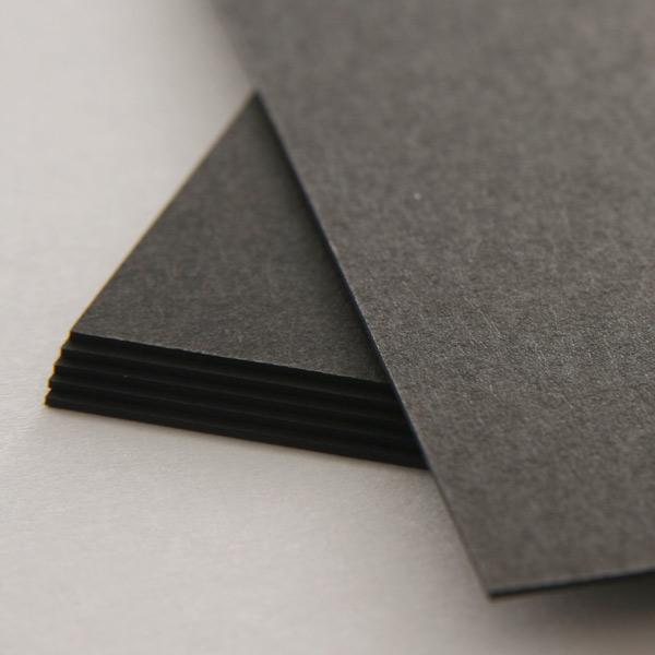 ネームカード ボード紙ブラック