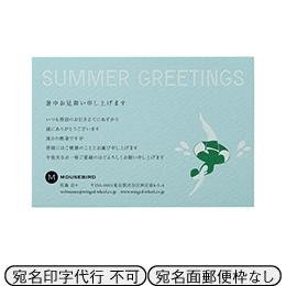 カード SKI_14 文面印刷あり