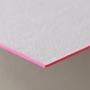 ネームカード エッジカラー蛍光ピンク