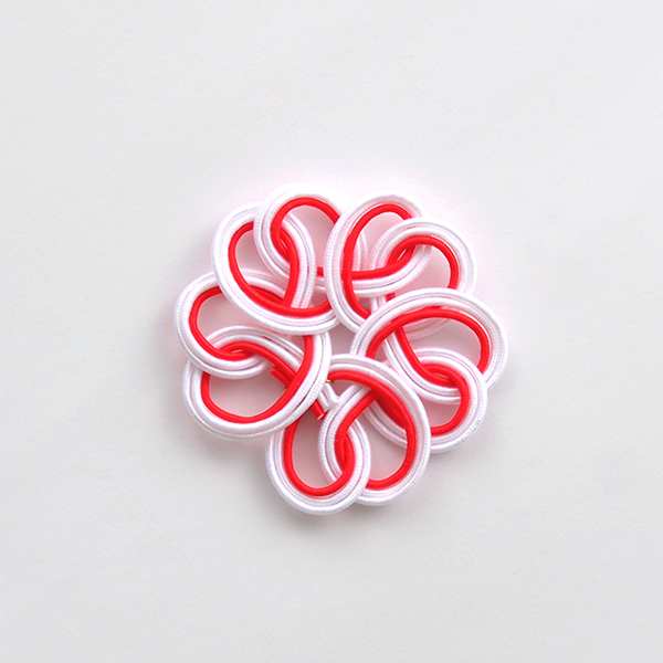 水引 桜 紅白