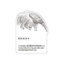 No.602 アリクイの名刺