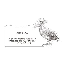 No.602 ペリカンの名刺