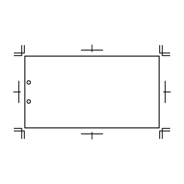 400×210 本文紙2穴